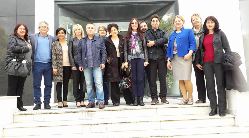 First Transnational Meeting in Athens, Greece
